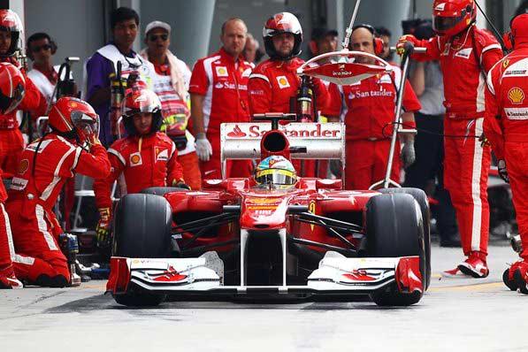 Формула 1 Алонсо