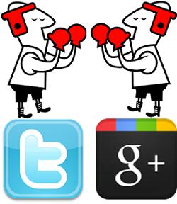 Google+ против Twitter